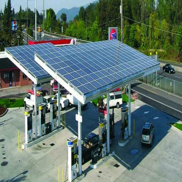 Petrol Pumps Solar